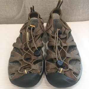 Keen brown sandals